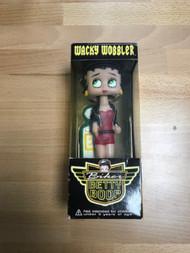 Funko Biker Betty Boop Wacky Wobbler Bobble Head Toy - EE740654