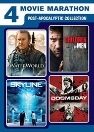 4 Movie Marathon: Post-Apocalyptic Collection Waterworld / Skyline / - EE740661
