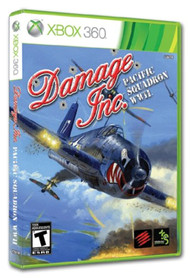 Damage Inc Pacific Squadron WWII For Xbox 360 Flight - EE740715