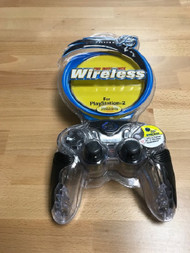 Chameleon Wireless Controller For PlayStation 2 PS2 Black Gamepad - EE740716