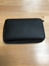 Rubberized Carrying Black Carrying Case For Nintendo XL Holds 8 Game - EE740733