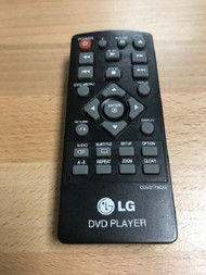 Replacement Remote Control For LG DVD Player Model COV31736202 - EE740824