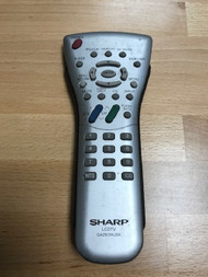 Sharp Lcdtv Replacement Remote Control Model GA293WJSA - EE740876