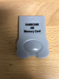 4 MB Memory Card Grey Expansion Gray For GameCube - EE741047