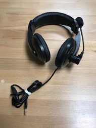 3.5 MM Jack Wired Gaming Headset With Boom Microphone Mic - EE741160