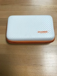 2DS XL Nintendo 3DS XL Rubberized White And Orange Carrying Case With - EE741391