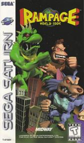 Rampage World Tour For Sega Saturn Vintage - EE741414