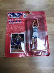 Vlade Divac / 1997 NBA Kenner Starting Lineup And Exclusive Topps - EE741464