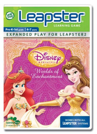 Leapfrog Leapster Learning Game Disney Princess Worlds Of Enchantment - EE741618