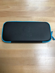 Nintendo Switch Lite Neoprene Black And Blue Zippered Carrying Case - EE741730