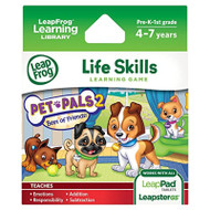 Leapfrog Pet Pals 2 Learning Game Works With LeapPad Tablets - EE741904