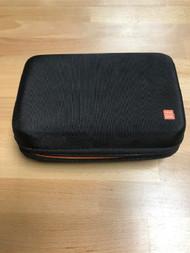 Nintendo 3DS XL Black And Orange Rigid Plastic And Nylon Carrying Case - EE742109