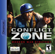 Conflict Zone: Modern War Strategy For Sega Dreamcast - EE742238