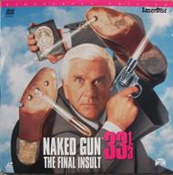 Naked Gun 33 1/3 On Laserdisc With Leslie Nielsen Priscilla Presley - EE742302