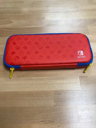 Blue And Red Rigid Nylon Carrying Case For Nintendo Switch - EE742454