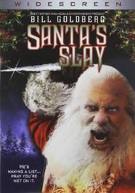 Santa's Slay Widescreen On DVD With Bill Goldberg Horror - EE742456