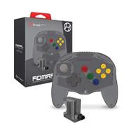Hyperkin Admiral Premium Bt Controller For N64 Space Black Nintendo 64 - EE742489