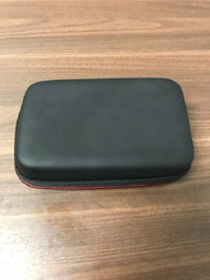 Rubberized Nintendo DSi XL Black Carrying Case Holds 8 Game Cartridges - EE742492