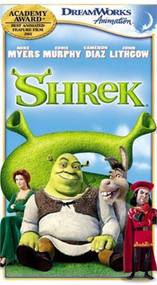 Shrek Special Edition VHS On VHS With Mike Myers - EE742498