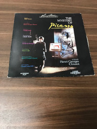 The Mystery Of Picasso A Film By Henri-Georges Clouzot On Laser Disc - EE742637