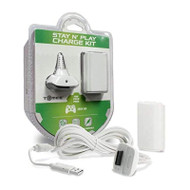 Hyperkin Charge Kit White For Xbox 360 - EE742642