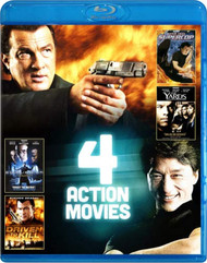 4-FILM Action Pack V.4 On Blu-Ray With Steven Seagal - EE742707