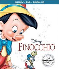 Pinocchio On Blu-Ray With Walter Catlett Disney Anime - EE742750