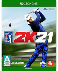 PGA Tour 2K21 For Xbox One Golf - EE742761