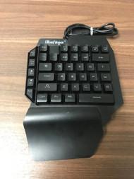 Bluefinger Mechanical USB Wired Gaming Keypad Black QRV328 - EE742766