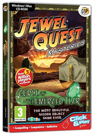 Jewel Quest Mysteries: Curse Of The Emerald Tear PC Cd/mac Software - EE742790
