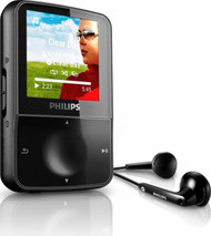 Philips GoGEAR Vibe 4 GB MP3 Video Player With 1.5-inch Color Screen - EE742794