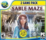 Big Fish: Sable Maze 1: Sullivan River And Sable Maze 2: Norwich Caves - EE742802