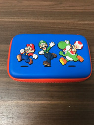 Super Mario Nintendo 3DS Rubberized Carrying Case Includes Free Super - EE742831