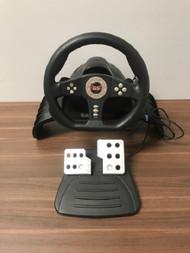 Gamestop PlayStation 2 Racing Wheel With Foot Pedals - EE742956