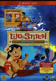 Lilo And Stitch Two-Disc Big Wave Edition On DVD With Chris Sanders 2 - EE742959
