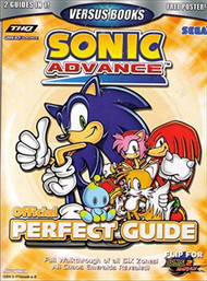 Sonic Advance Sonic Adventure 2 Battle Official Perfect Guide Strategy - EE743016