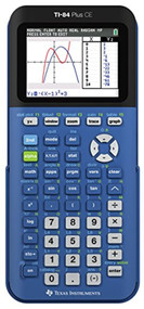 Texas Instruments TI-84 Plus Ce Blueberry Graphing Calculator - EE743022