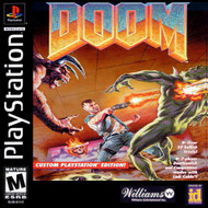 Doom For PlayStation 1 PS1 With Manual And Case - EE743068