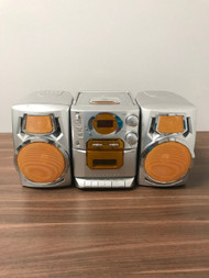 Durabrand Boombox AM/FM Cassette Compact Disc Portable Stereo Model CD - EE743106