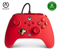 PowerA Enhanced Wired Controller For Xbox Red Gamepad Wired Video Game - EE743140