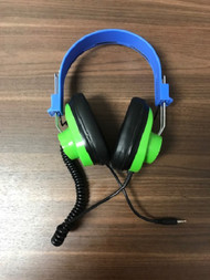 Leap Pad Wired Schoolhouse Blue And Green 3.5 MM Headphones For Leap - EE743225