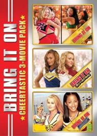 Bring It On: Cheertastic 3-MOVIE Pack On DVD With Kirsten Dunst - EE743310