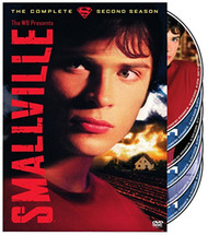 Smallville: The Complete Second Season On DVD With Tom Welling Drama - EE743327