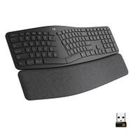 Logitech Ergo K860 Wireless Ergonomic Keyboard With Wrist Rest Split - EE743344