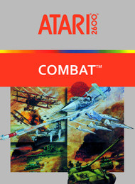 Combat For Atari Vintage Shooter - EE743373