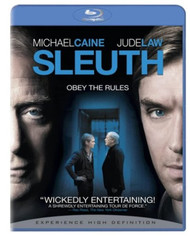 Sleuth On Blu-Ray With Michael Caine Mystery Movie - EE743429