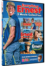 Everything Ernest 3 Movie Collection On DVD With Jim Varney - EE743441