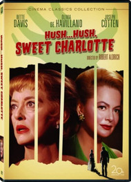 Hush Hush Sweet Charlotte On DVD With Bette Davis Drama Movie - EE743443
