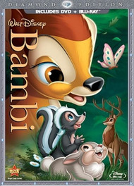 Bambi Two-Disc Diamond Edition Blu-Ray/dvd Combo In DVD Packaging With - EE743505
