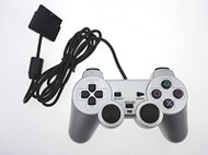 Wired Replacement Controller Silver By Mars Devices For PlayStation 2 - ZZ743549